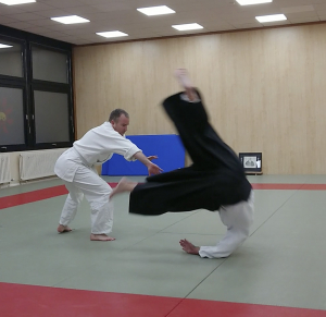 Erfolgreiche Aikido Braungurtprüfung von Stefan Kettner unter Coronabedingungen